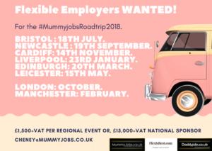 MummyJobs Road Trip UK 2018