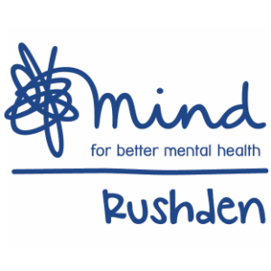 Rushden, Mind for better health logo