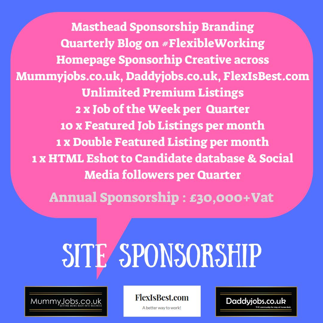 Site Sponsorship
