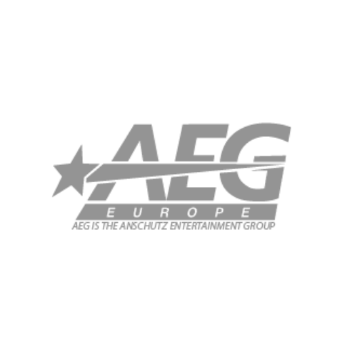 AEG Logo in grey