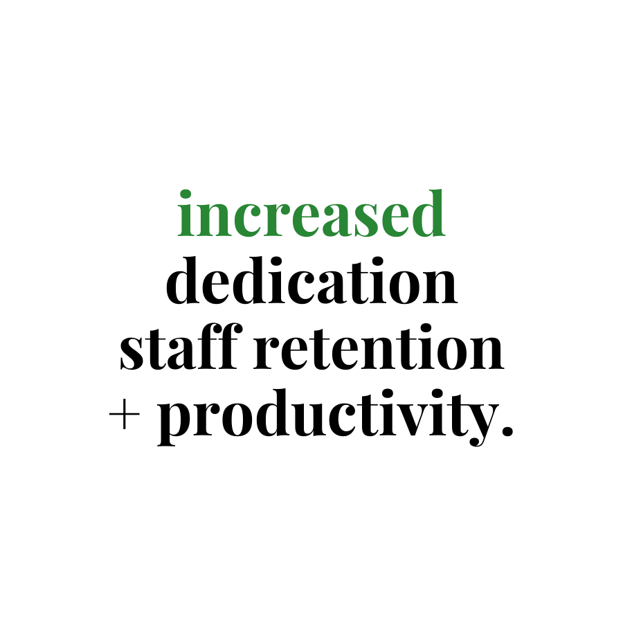 increased dedication benefit of flexible working