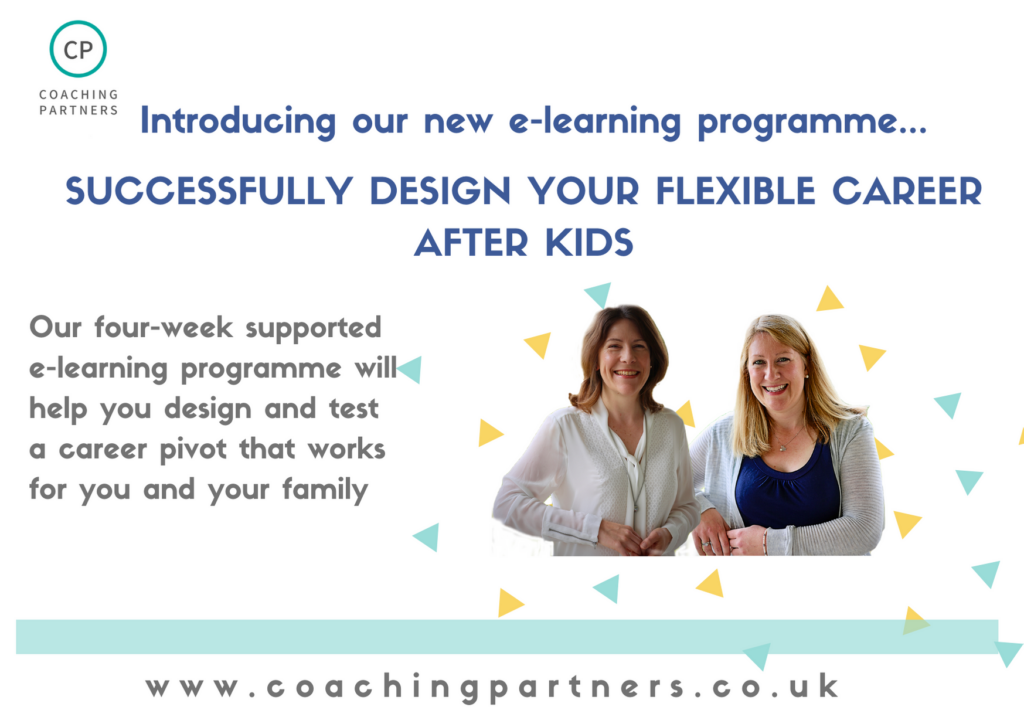 Successfully design your flexible career after kids