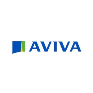 Aviva Logo Green and Blue